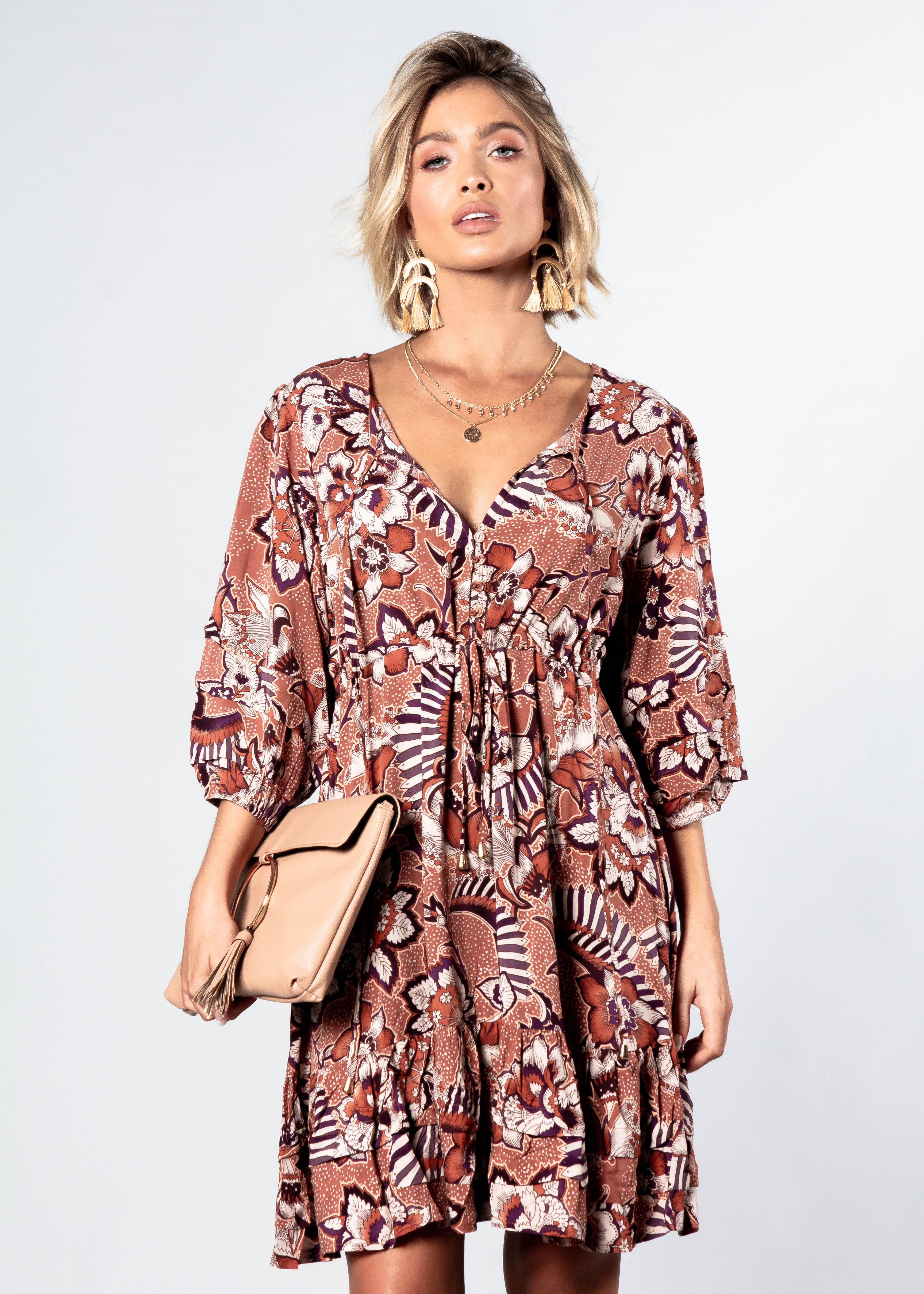 Faith Mini Dress - Kingston