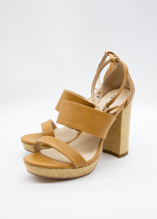 Mason Heel - Tan/Natural