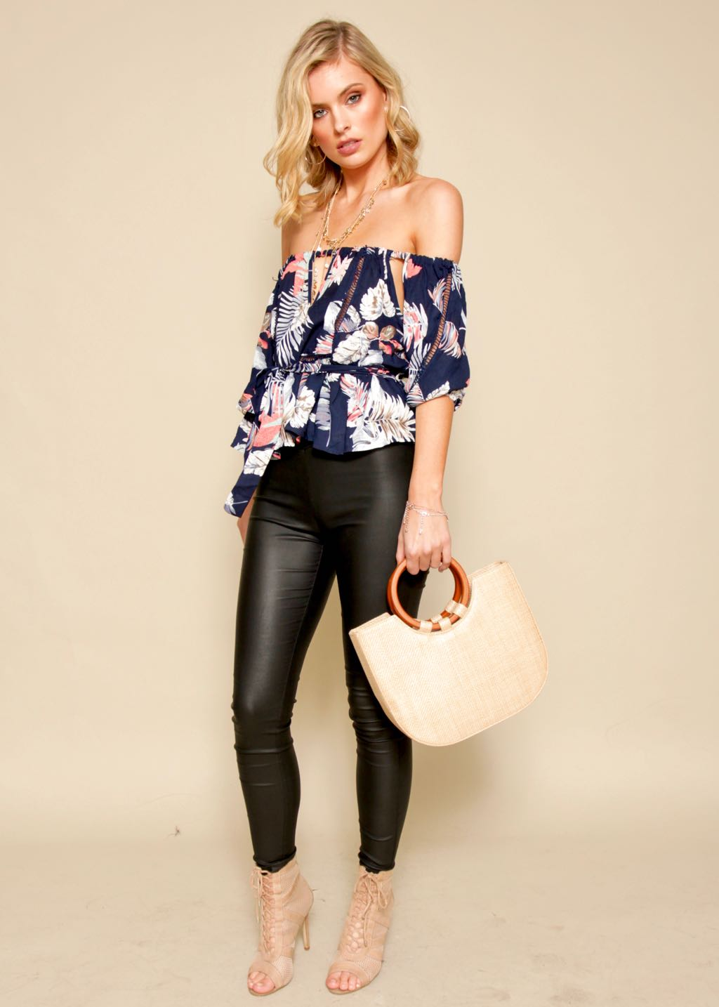 Sweet And Serene Top - Navy