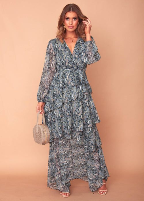 Oaklyn Maxi Dress - Sapphire Nights