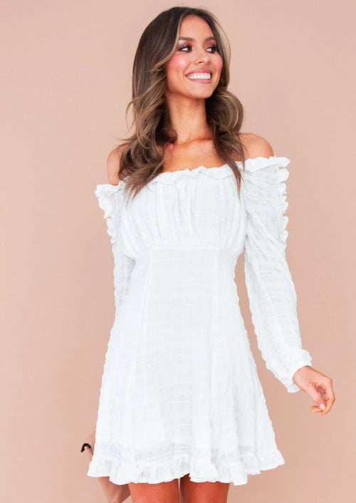 Women's Elevate Dress - White