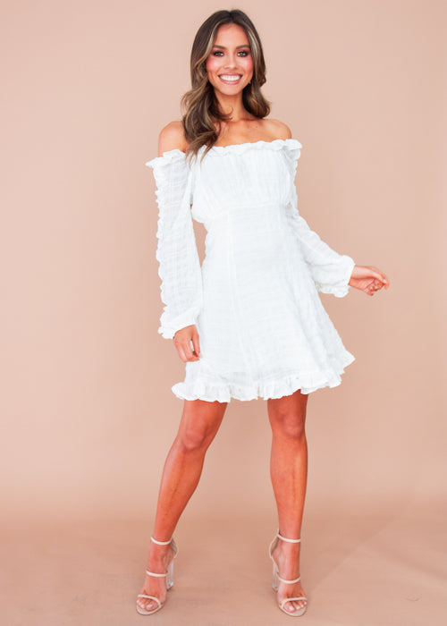 Elevate Dress - White