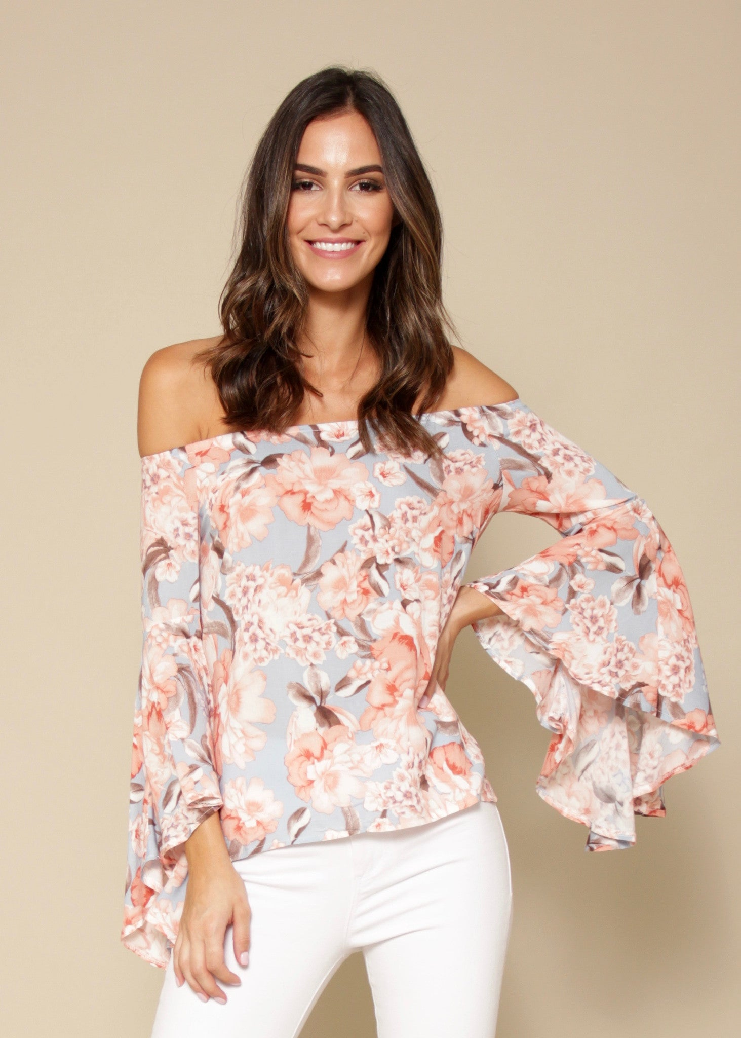 Neverland Off Shoulder Top - Aria
