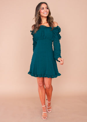 Elevate Dress - Emerald