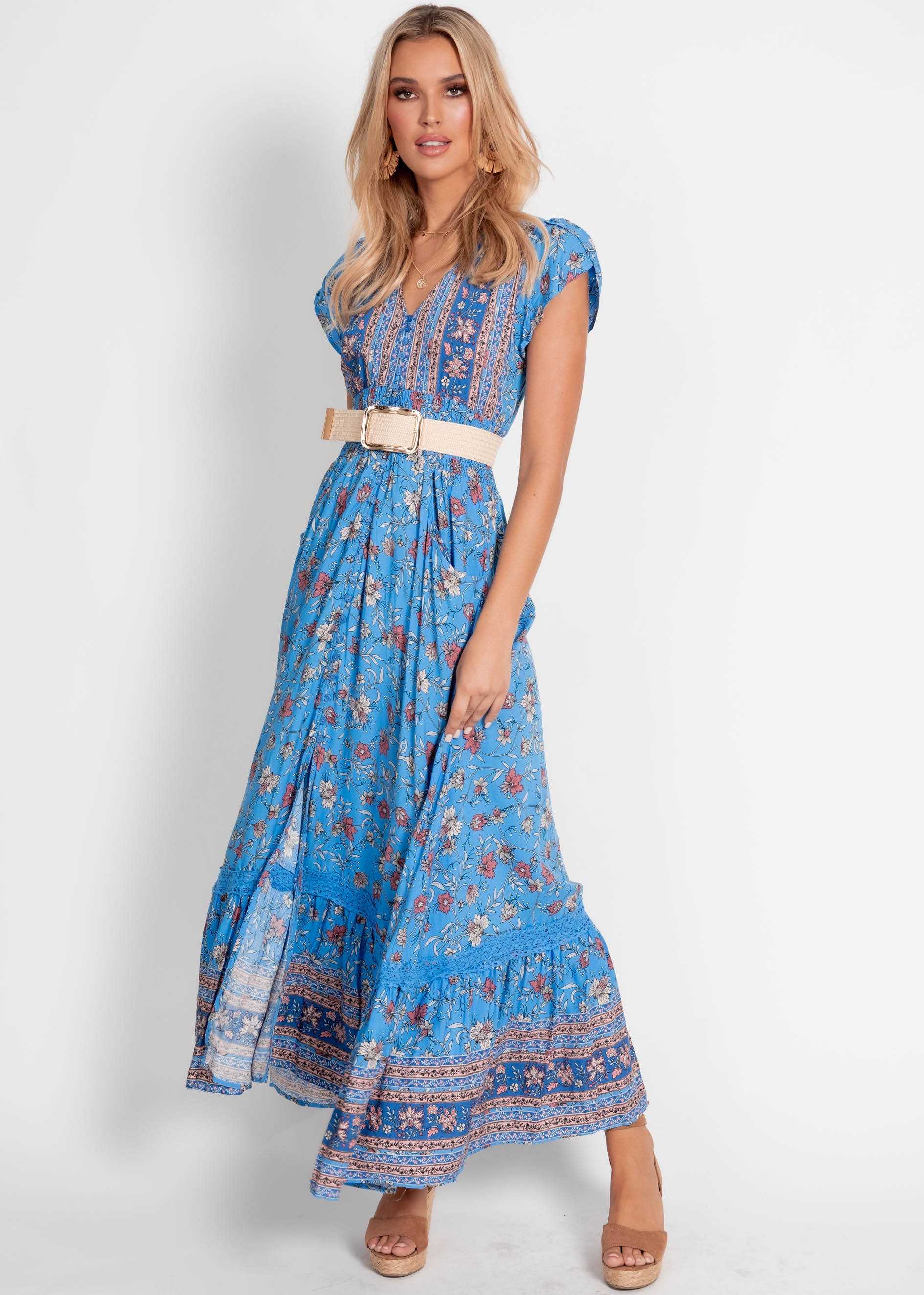 Carmen Maxi Dress	 - Josianne