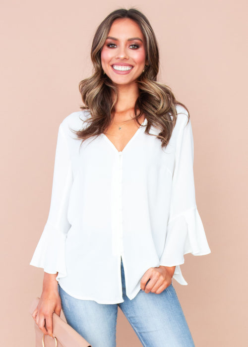Women's Erika Blouse - White