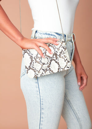 Devi Bag - White Snake