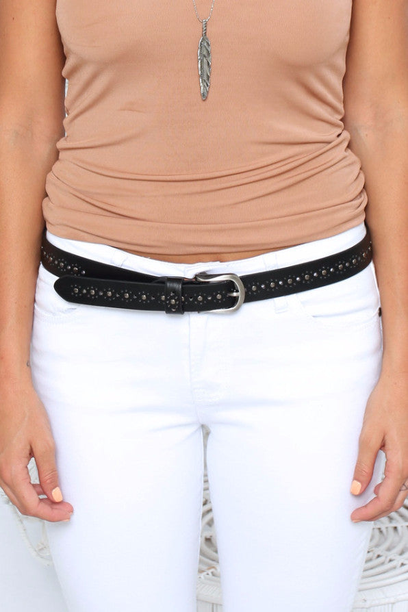 Stud Belt - Black