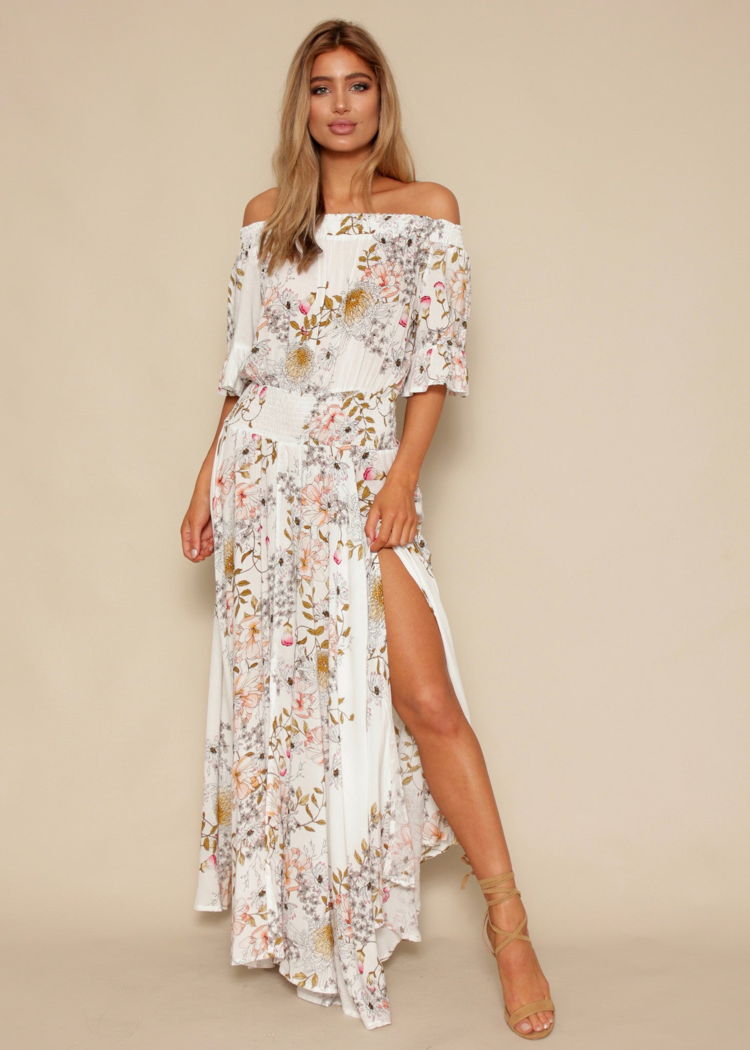 Boho Leah Maxi Dress - Delilah