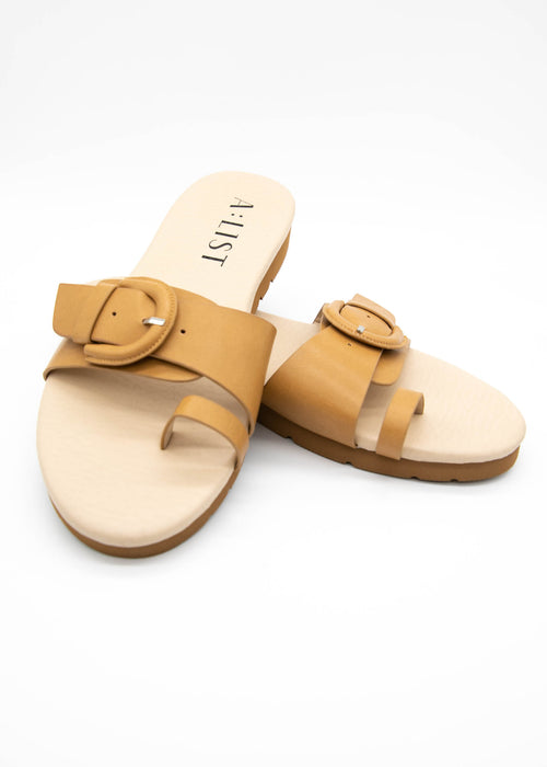 Connor Slides - Tan