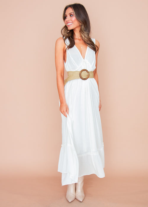 Women's Tempest Maxi Dress - White