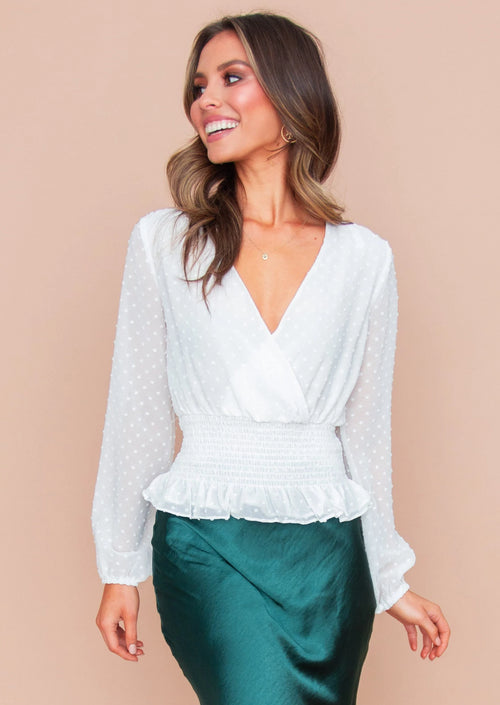 Women's Mojito Blouse - White