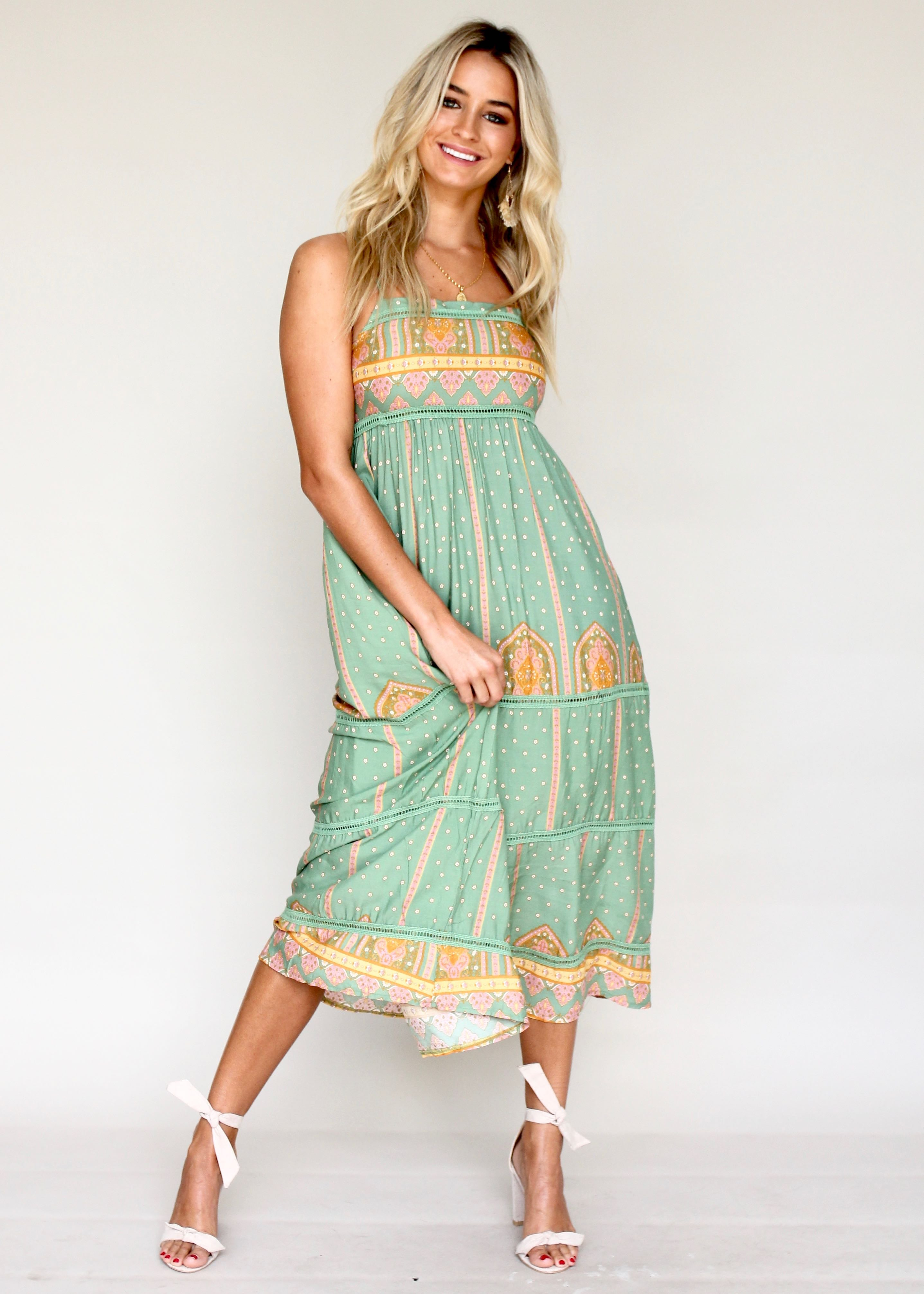 Heidi Swing Dress - Frida