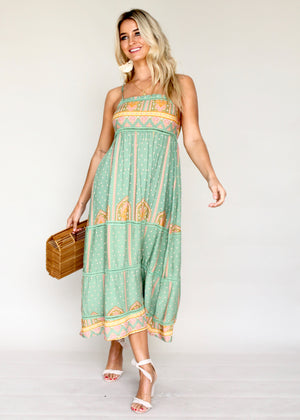 Heidi Swing Midi Dress - Frida