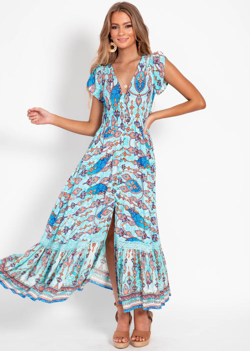 Carmen Maxi Dress - Venus