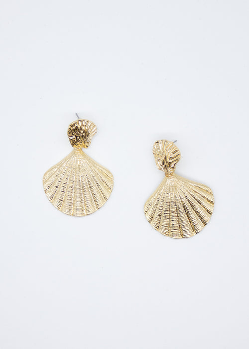 By The Sea Earrings - Gold