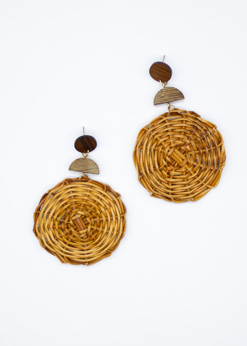 Dobrev Earrings - Natural