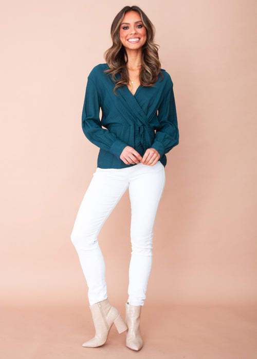 Ellington Blouse - Emerald