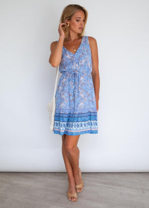 Prescott Swing Dress - Wavebreak