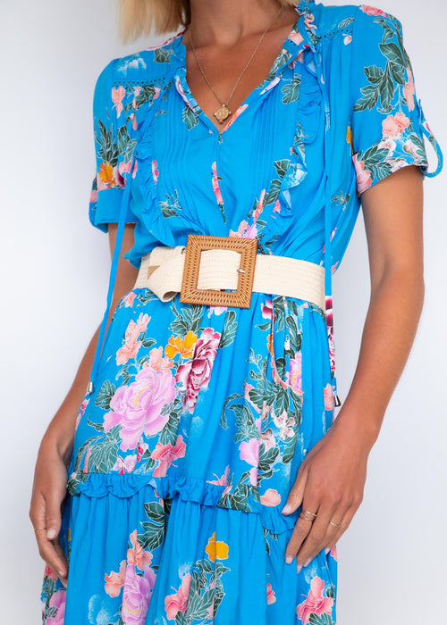 Remmy Dress - Blue Lagoon