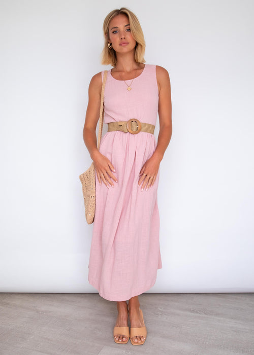 Vanessa Maxi Dress - Blush