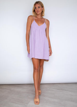 Sunny Days Swing Dress - Lilac