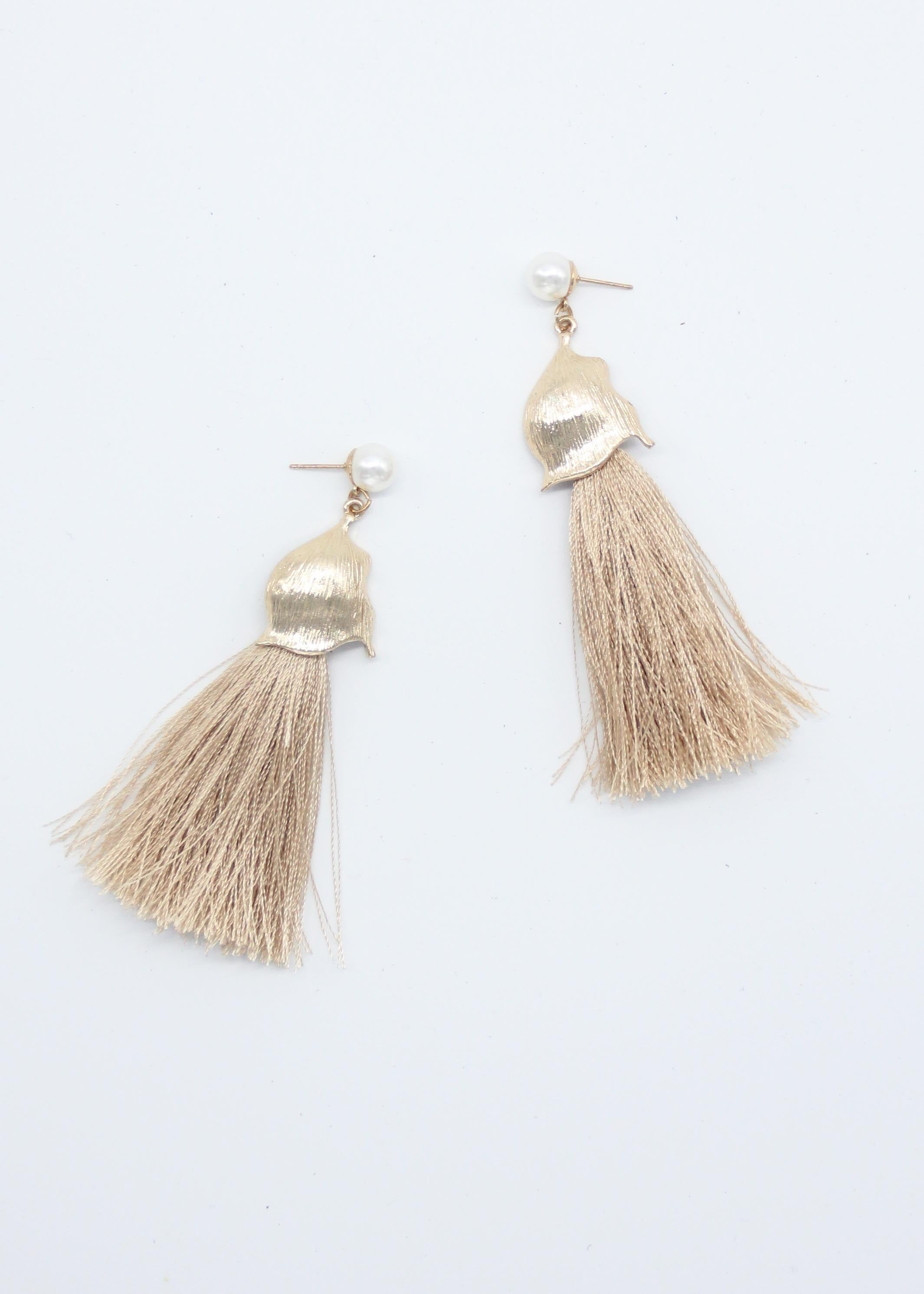 Leon Pearl Earrings - Glow