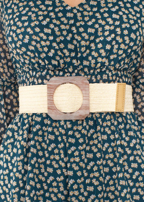 Women's Pasadena Belt - Cream