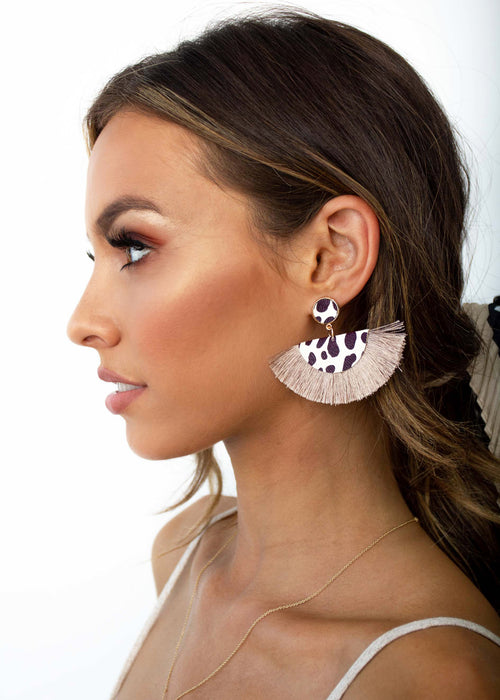 Fresh Air Earrings - Mocha