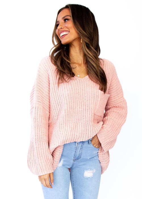 Women's Mikey Sweater - Blush