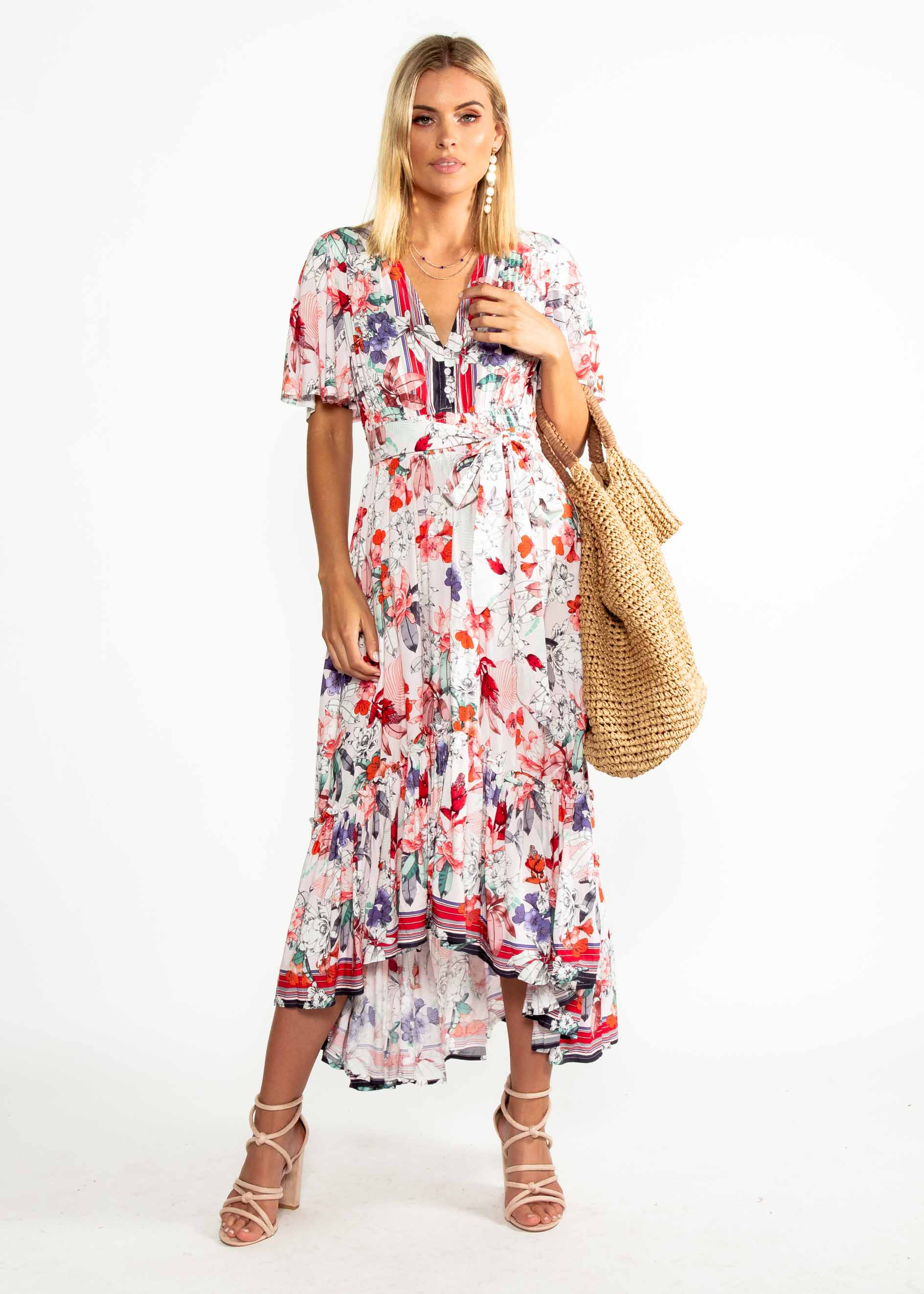 Maryn Hi-Lo Maxi Dress - Malone