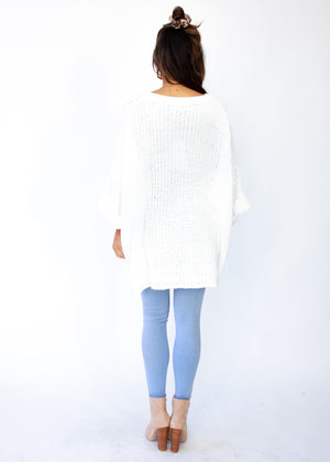 Love Letter Sweater - White
