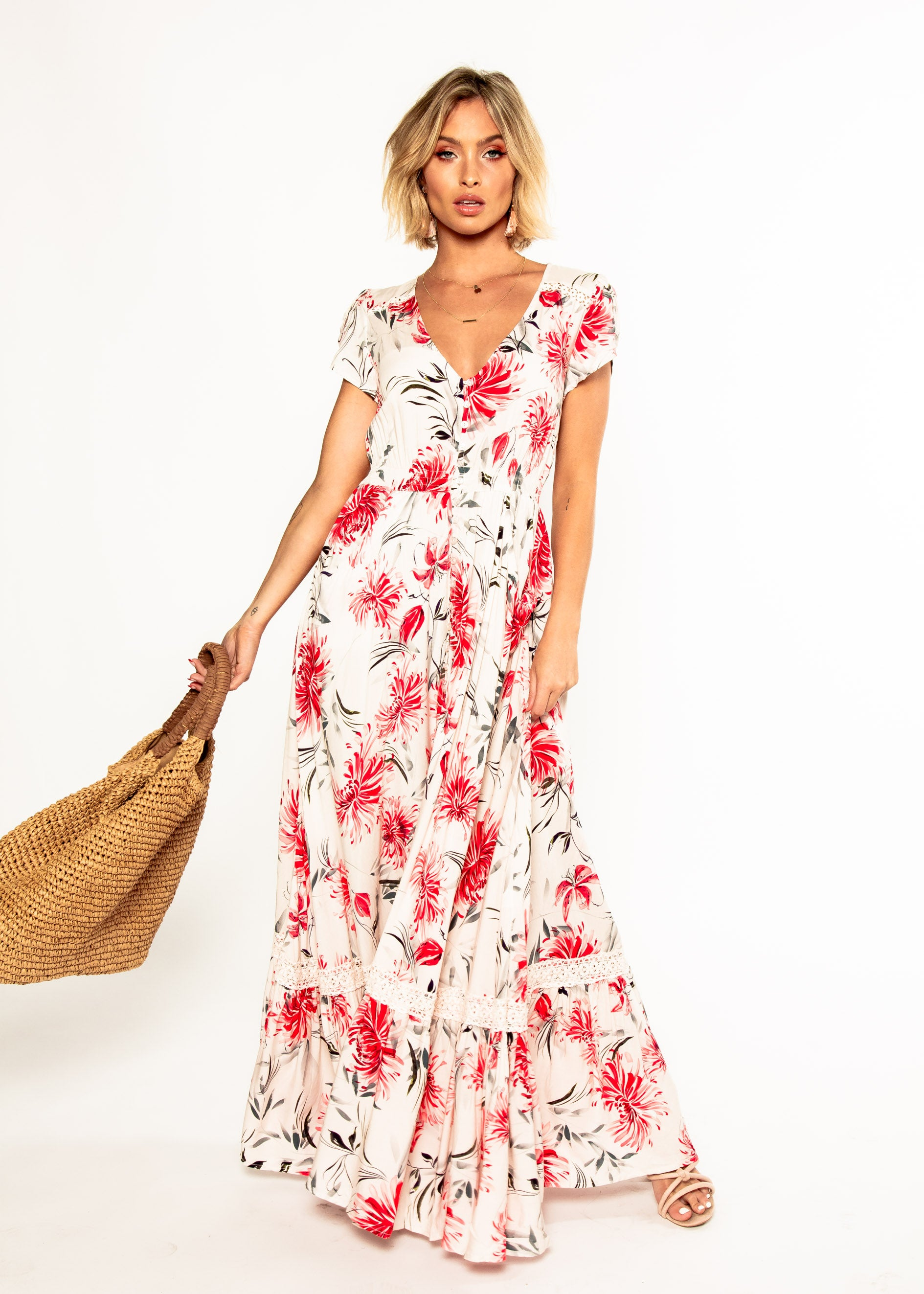 Carmen Maxi Dress - Tabitha