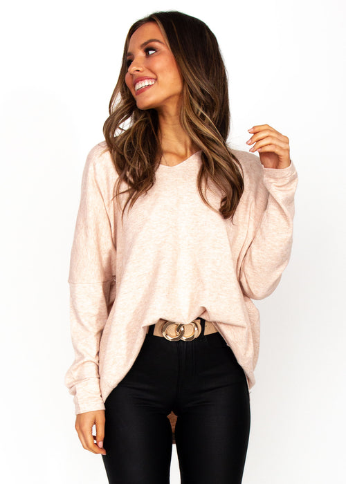 Women's Jessika Knit Top - Blush