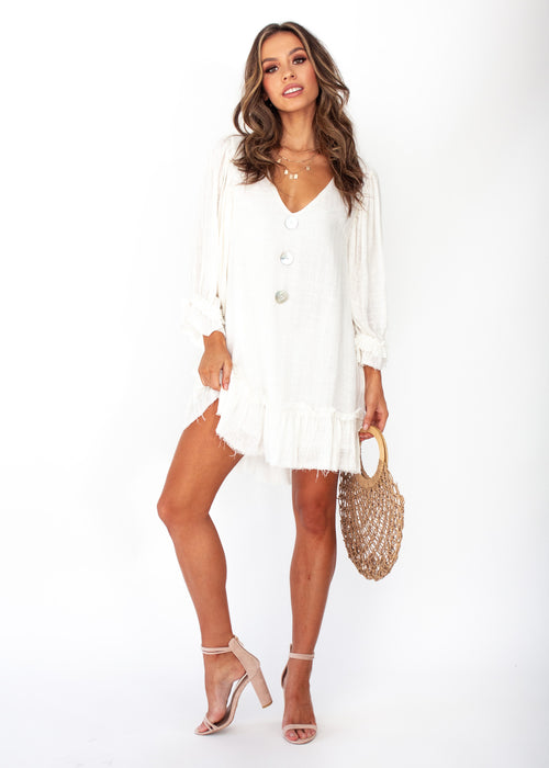 Jerona Dress - Off White