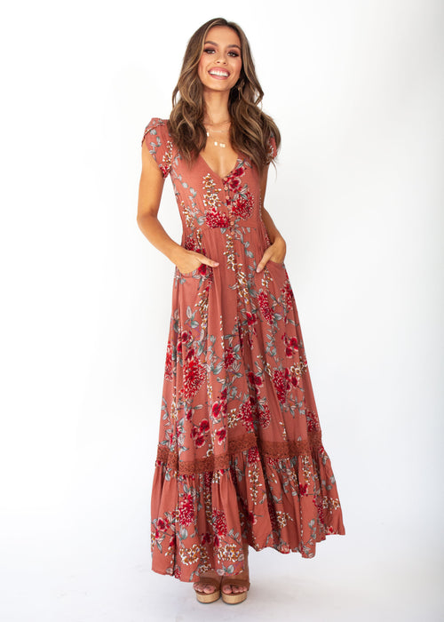 Carmen Maxi Dress - Dulcie - Jaase