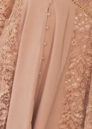 Sagittarius Lace Dress - Mocha