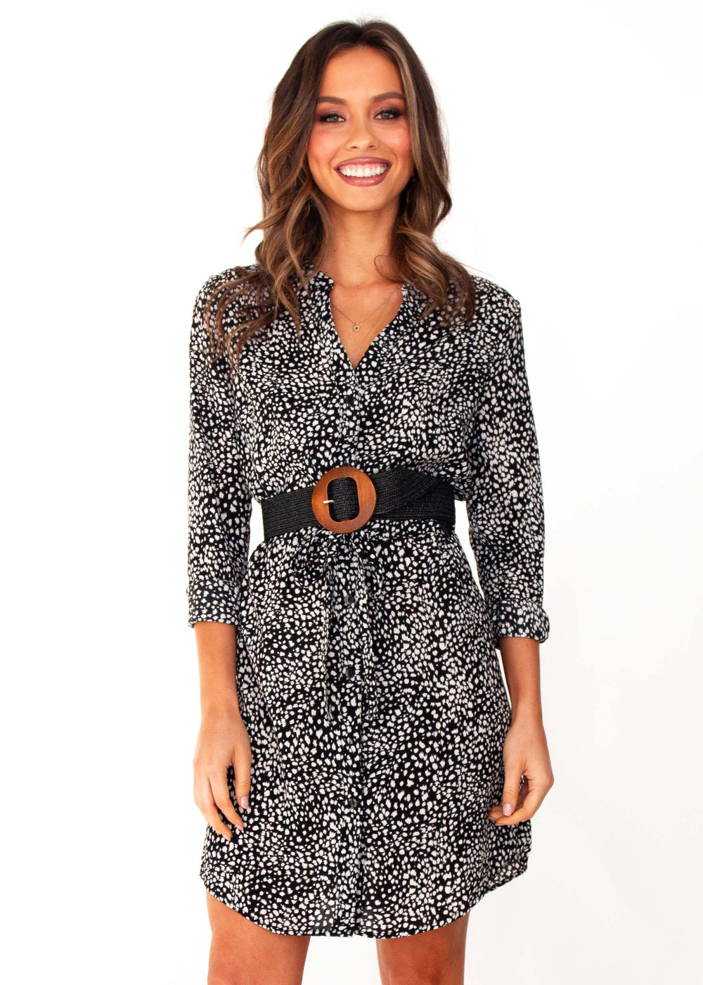 Women's Winslow Tunic Dress - Black Spot