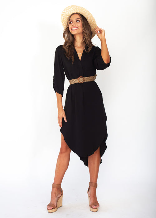 Women's Life With You Tunic Midi - Black Dress