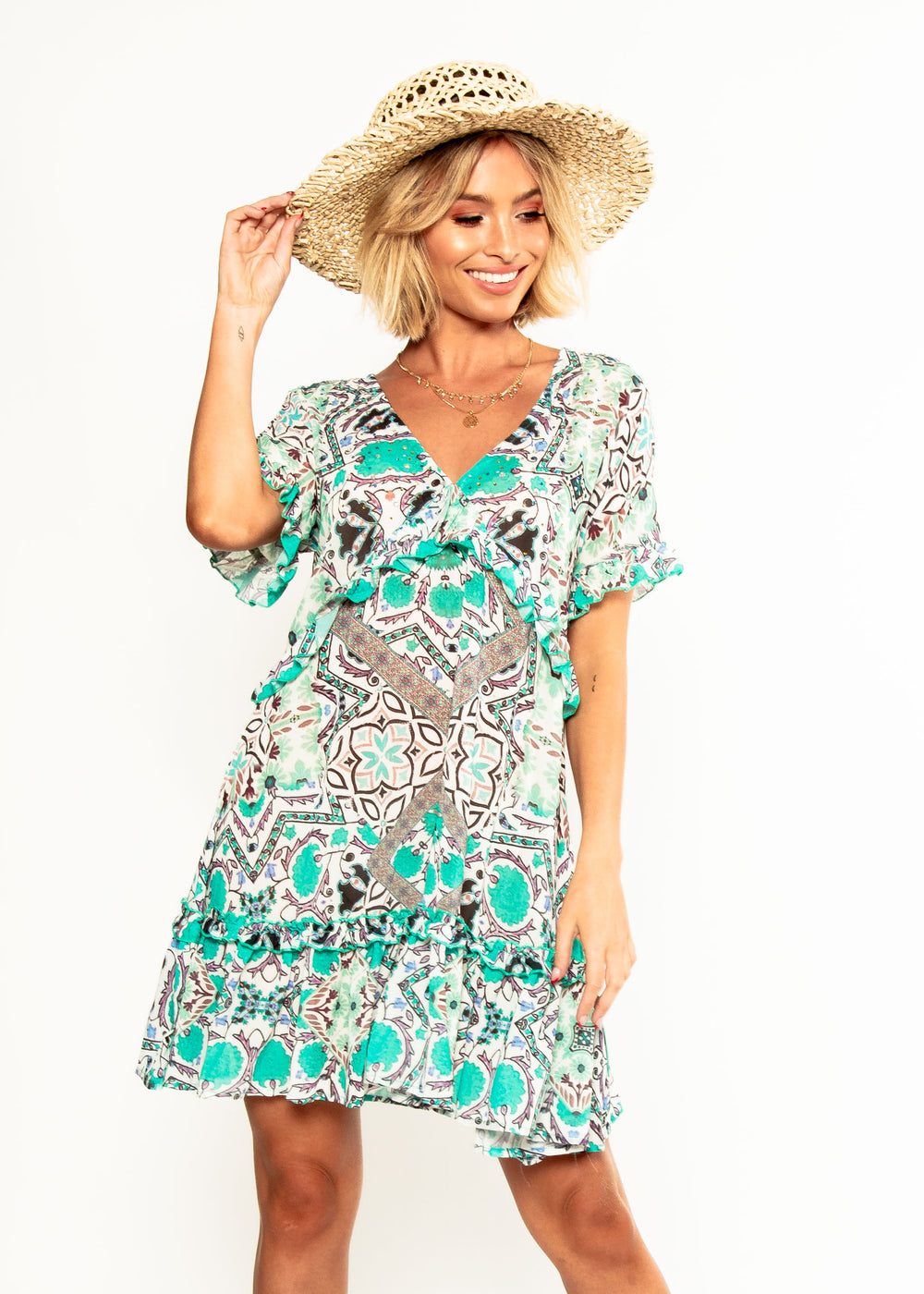Hold Me Now Dress - Havana