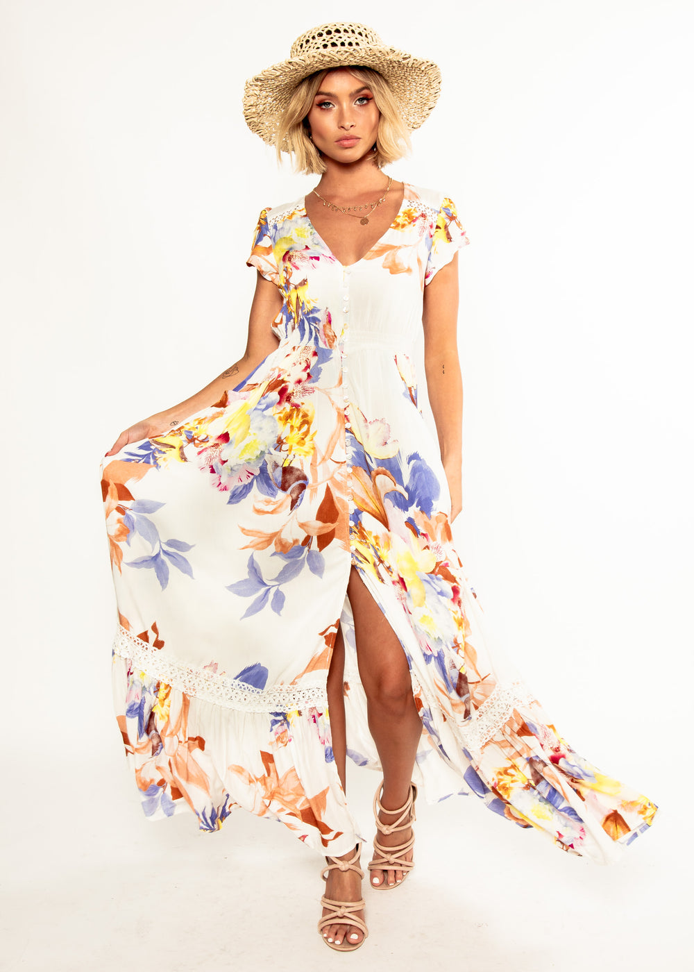 Carmen Maxi Dress - Filly