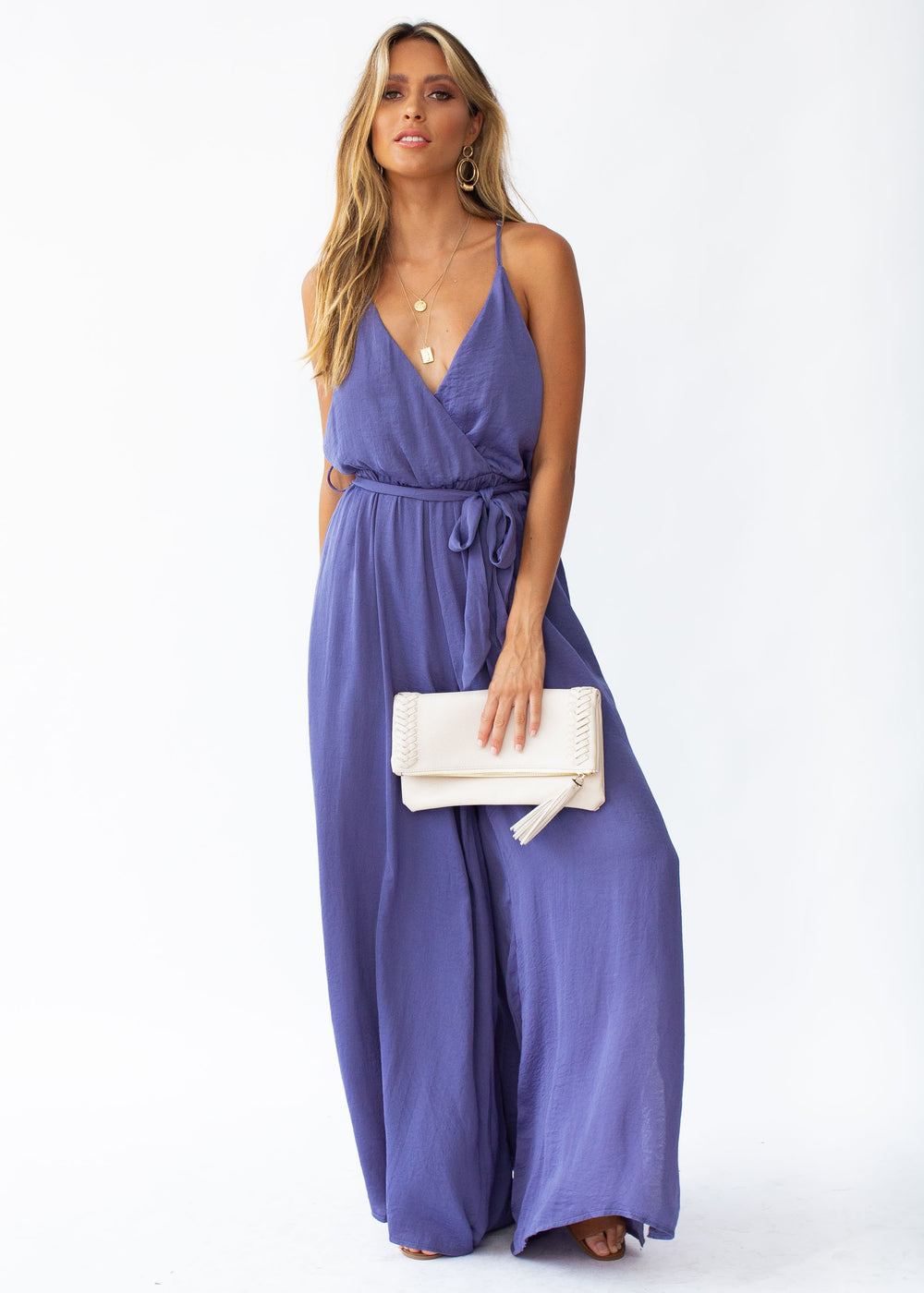 Losing Sight Pantsuit - Midnight Blue