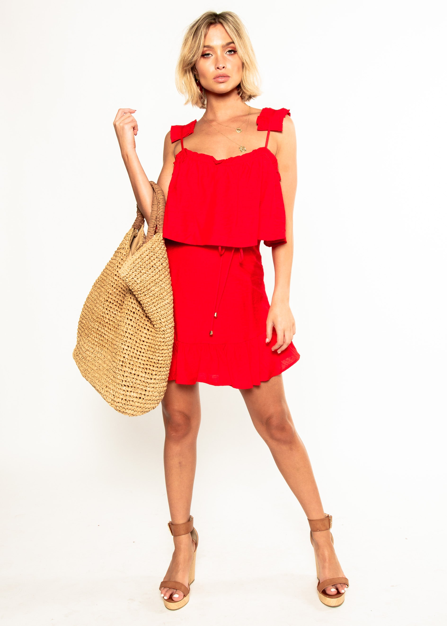 Bad Decisions Dress - Red