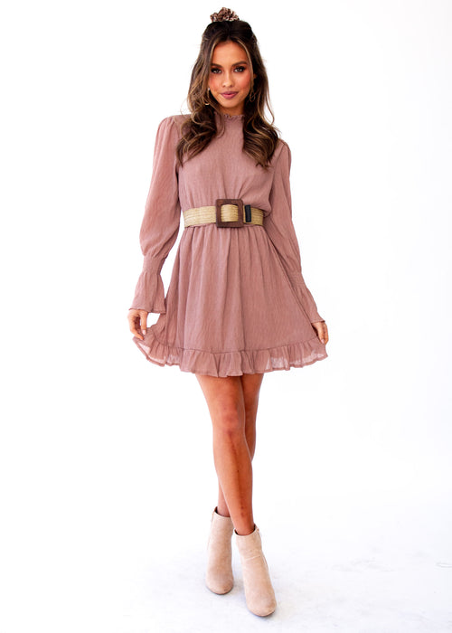 Enya Dress - Blush