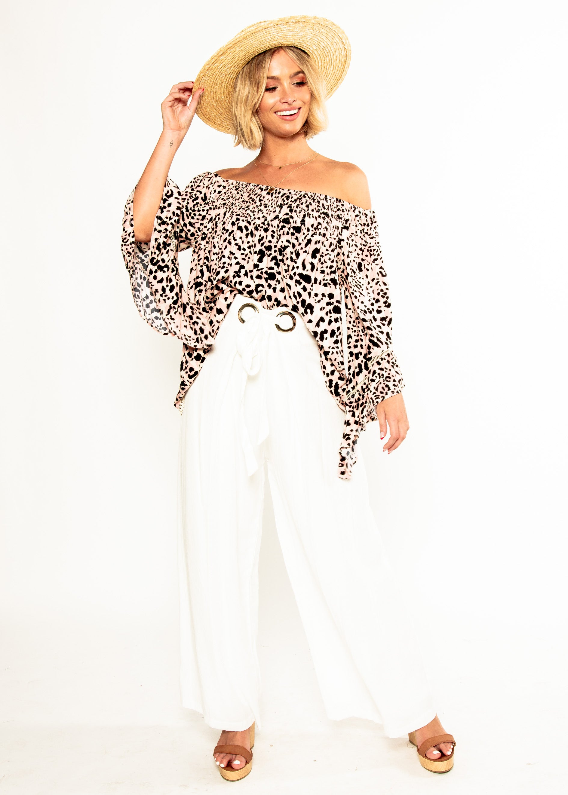 Sugar Night Off Shoulder Top - Wilder