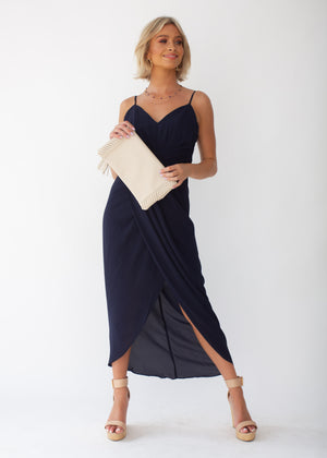 Serena Maxi Dress - Navy