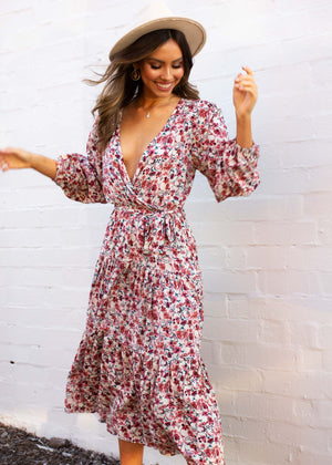 Taziana Maxi Dress - Floral Dream