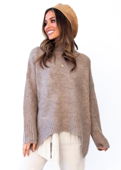 Women's Apollo Sweater - Mocha