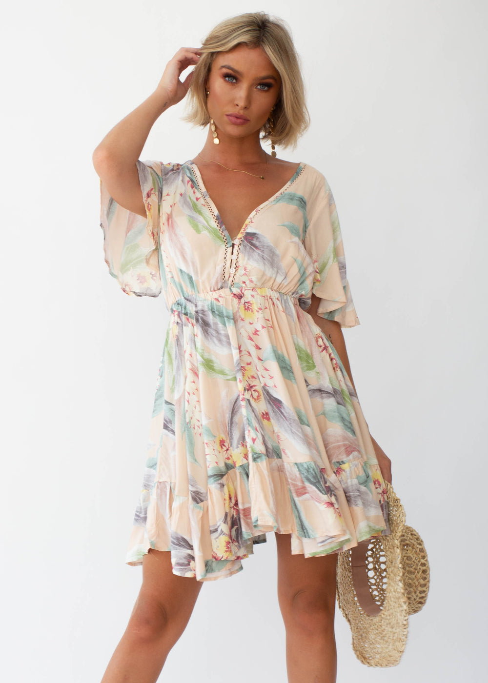Bambi Swing Dress - Cassie