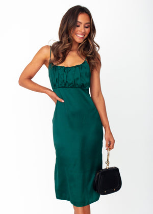 Women's Bambina Midi Dress - Emerald